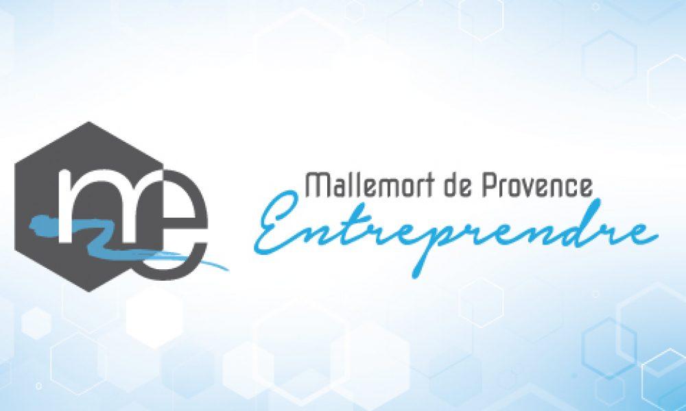Logo Mallemort Entreprendre